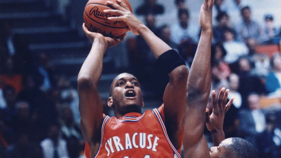 Syracuse Basketball To Retire John Wallace S No 44 Jersey