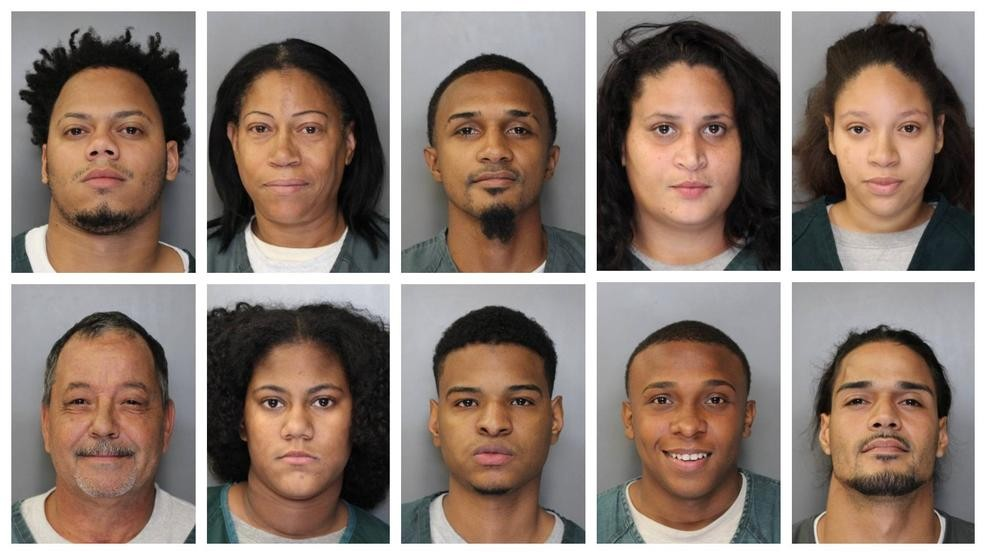 Police: 10 arrested in Syracuse drug bust   WSTM