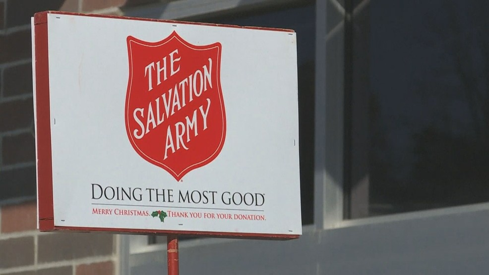 Don T Have Change Salvation Army Kicks Off Red Kettle Campaign With New App Wstm