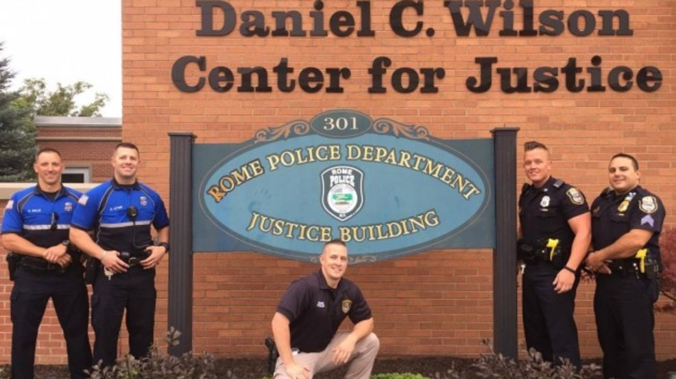 Rome Police Department >> Rome Police Join Hot Cops Trend Wstm