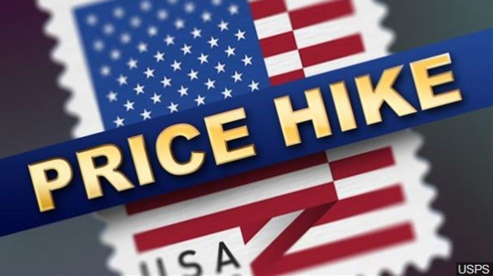 Postage Stamp Price Hike On January 27th Wstm