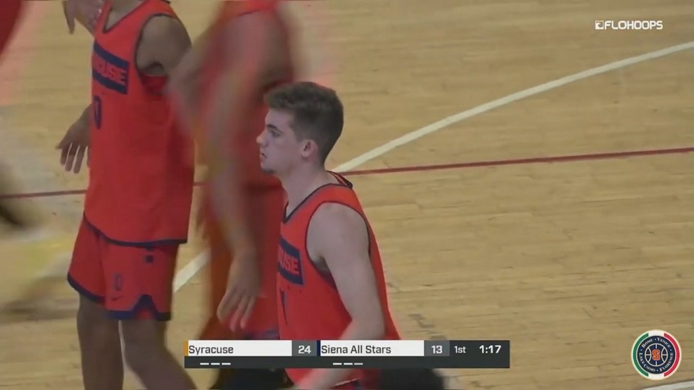 Joe Girard Iii S Team High 16 Points Paces Syracuse To