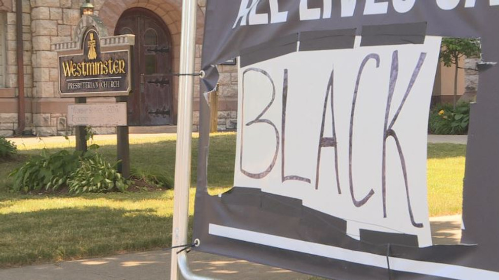 Black Lives Matter sign damaged in Auburn,