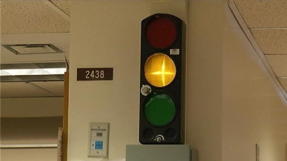 Traffic Lights Used For Noise Control At St Joseph S Hospital
