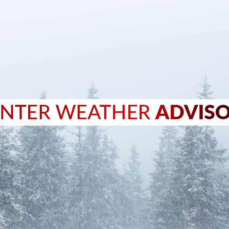 Winter Weather Advisories In Place For Midweek System Wstm